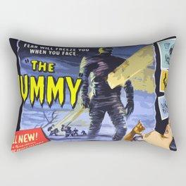 The Mummy * Vintage Movies Inspiration Rectangular Pillow