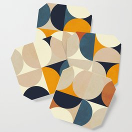 mid century abstract shapes fall winter 1 Coaster
