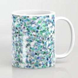 Teal Mermaid Scales Queen Coffee Mug