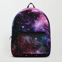 Pink Purple Blue Galaxy Nebula Dream #1 #decor #art #society6 Backpack