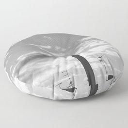 Black And White Chimney Floor Pillow