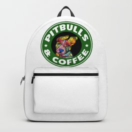 Colourful Pit Bulls, pitbull gift Backpack