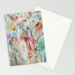 Nils Dardel the tourist in Tenerife Stationery Cards