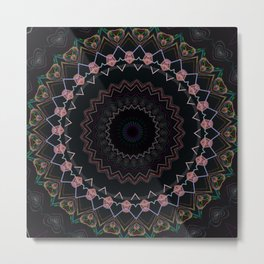 Some Other Mandala 209 Metal Print