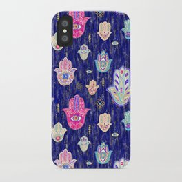 Hamsa Mystical Protection iPhone Case