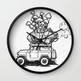 The Tiny Little Shop On Earth Wall Clock