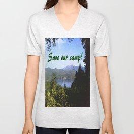 Save Our Camp! -Daytime Unisex V-Neck