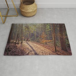 Walk through the woods Rug