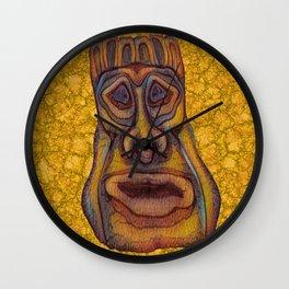 Tiki King Wall Clock