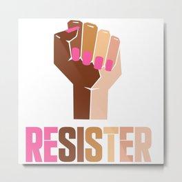 Resister Metal Print