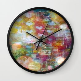 Cosmos Love Wall Clock