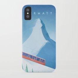 Ski Zermatt iPhone Case