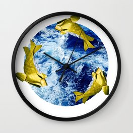 Freddi Goldfinger Wall Clock