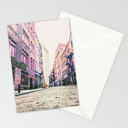 Stone Street - Financial District - New York City Stationery Cards