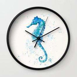 Sailing Along (Seahorse) Wall Clock
