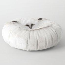 SMILING ALPACA Floor Pillow