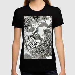 Cranes (B&W) T-shirt