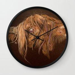 The bull Wall Clock