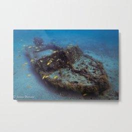 Shipwreck Metal Print