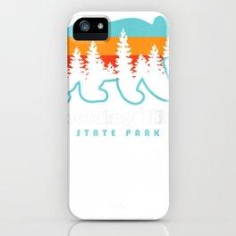 hocking hills state park tee iPhone Case