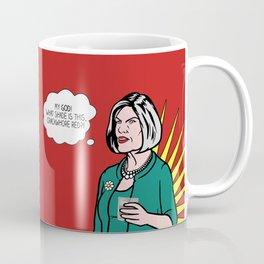 Malory Archer Lichtenstein Coffee Mug