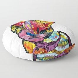 Colourful Pit Bulls, pit bull gift Floor Pillow