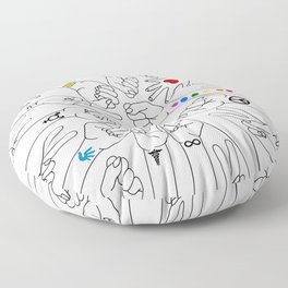 Equality Floor Pillow