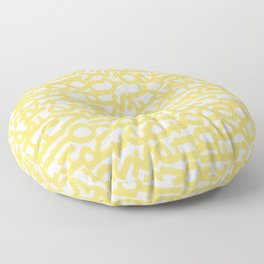 Chasin' Gold Floor Pillow
