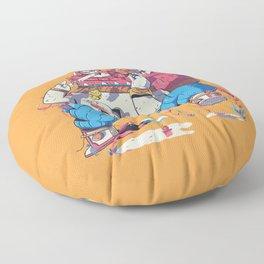 Monkey Jar Floor Pillow
