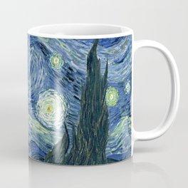 The Scream Starry Night Edvard Munch Vincent Van Gogh Coffee Mug