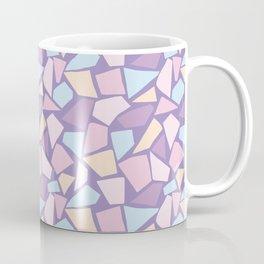 Pastel mosaic pattern with stone texture Coffee Mug