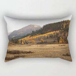 Mountain Valley Morning Light Rectangular Pillow