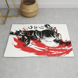 Traditional Fighter Rug
