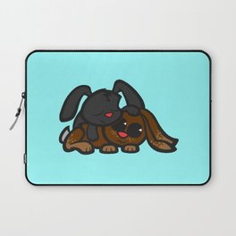 Cuddle Bunnies Laptop Sleeve