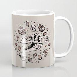 Geo-rex Vortex   Rose Quartz Coffee Mug