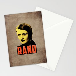 Ayn Rand Stationery Cards
