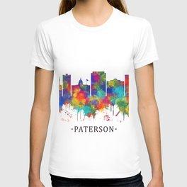 Paterson New Jersey Skyline T-shirt