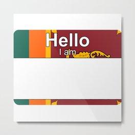 Hello I am from Sri Lanka Metal Print