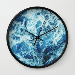 Rough Ocean Waves Wall Clock