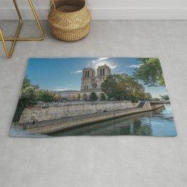 Notre Dame de Paris Cathedral  Rug