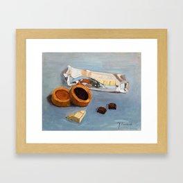 Chocolate bar Framed Art Print