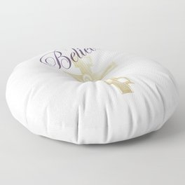 Believe Floor Pillow