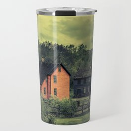 Historic Miners Village Coal Mining Town Pennsylvania Eckley Rural Living Travel Mug