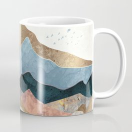 Golden Peaks Kaffeebecher