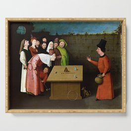 Hieronymus Bosch The Conjurer Serving Tray