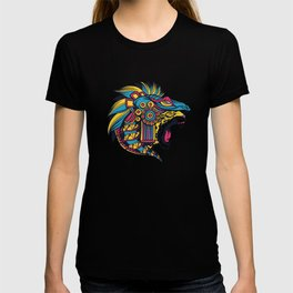Jaguar Aztec Art Mexican Art T-shirt