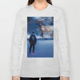 Big Deer Hunt Long Sleeve T-shirt