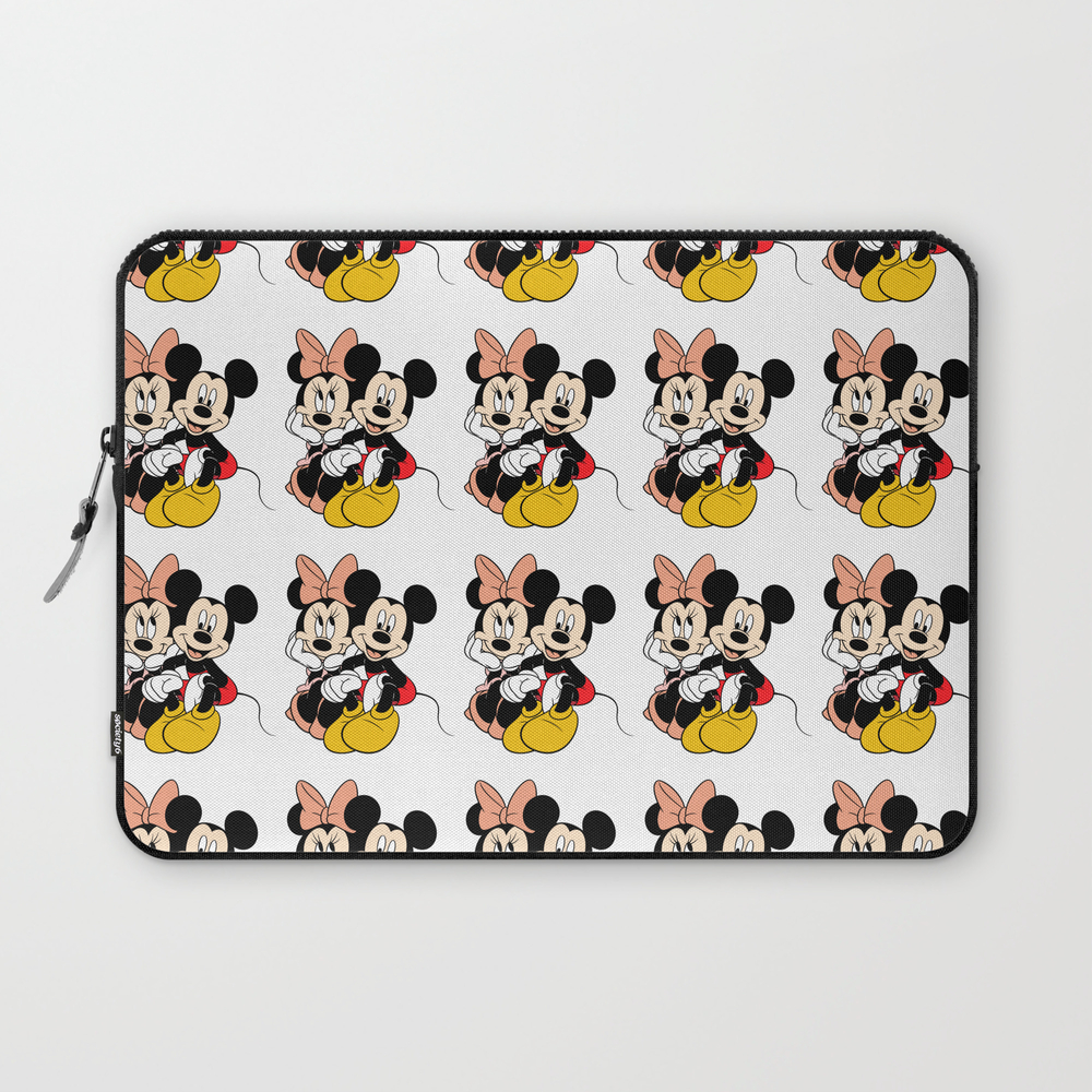 Cartoon Minnie Mickey Mouse Laptop Sleeve LSV7733624