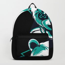 Neon Panda Retro Party Gift Backpack
