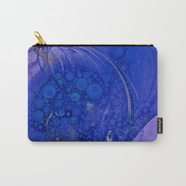 Blueberry Swirl Carry-All Pouch